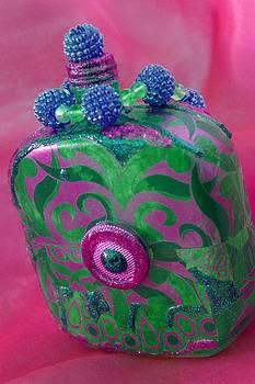 Decorative Pink Bottle by Tamarra Tamarra