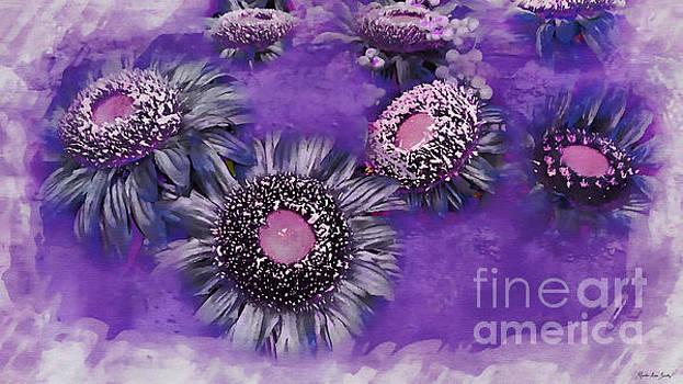 Decorative Sunflowers A872016 by Mas Art Studio