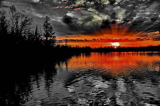 Matthew Winn - Decow Lake In Red