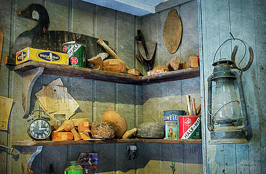 Decoy Workshop Shelves by Brian Wallace