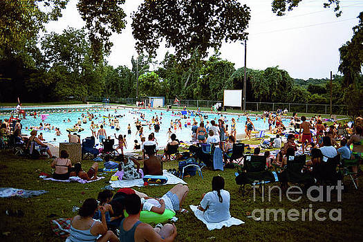 Herronstock Prints - Deep Eddy is the perfect swimming hole to beat the hot Texas Summer Heat, Austin, Texas, USA
