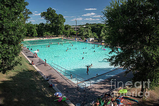 Herronstock Prints - Deep Eddy Pool is a municipal pool in downtown Austin and listed as one of Austin