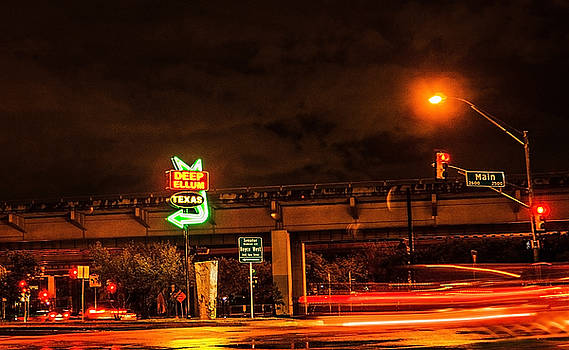 Deep Ellum night by Stephanie Johnson