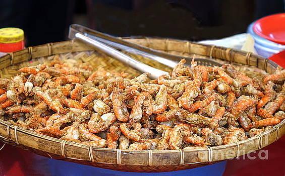 Deep Fried Shrimps by Yali Shi