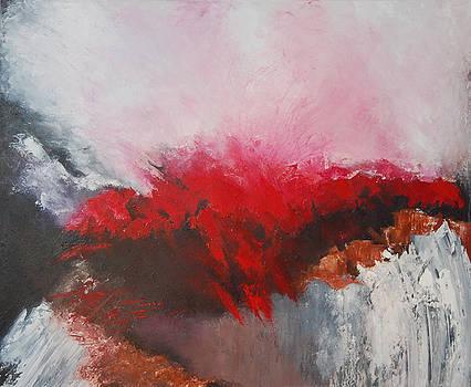 Deep red 4 by Jos Van de Venne