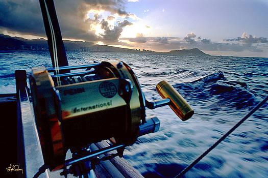 Deep Sea Fishing off Waikiki by Stephen Fanning