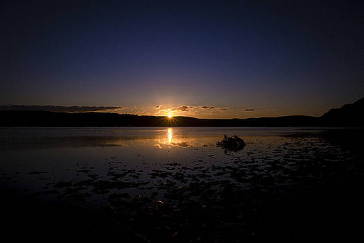 Deeply Sunset by Chris  Hood