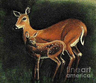 Hazel Holland - Gentle Deer