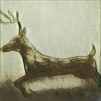 Deer Energy by Margaret Welsh Willowsilk
