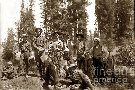 California Views Mr Pat Hathaway Archives - deer hunters  with rifles circa 1917