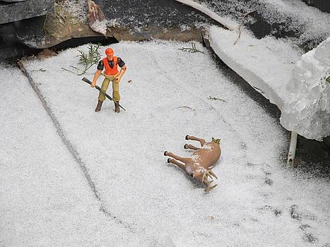 Deer Hunting by Digital Art Cafe