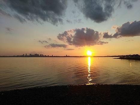 Deer Island Sunset by Robert Nickologianis