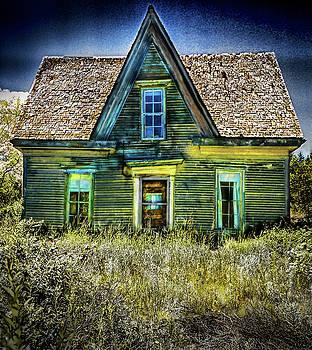 Deer Isle Haunted House by Gary Shepard