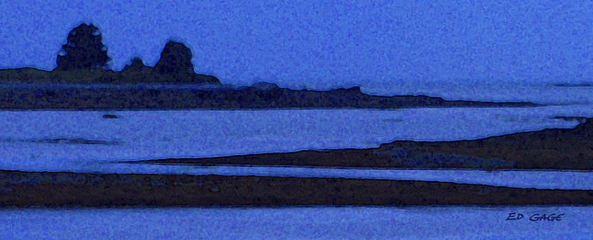 Deer Isle Twilight by Ed A Gage