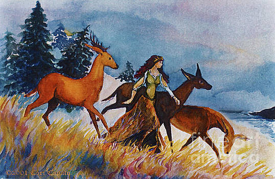 Cori Caputo - Deer Maiden by the Sea