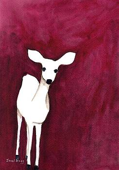 Deer on Cap Sante by Janel Bragg