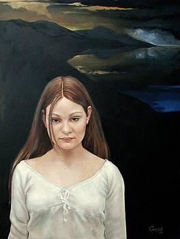 Defiant Girl  2004 by Jerrold Carton