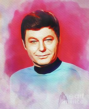 John Springfield - DeForest Kelley as Dr. McCoy