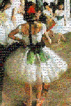 Degas - The Dance Class detail 2 by Gilberto Viciedo