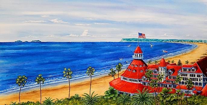 Del Coronado Panorama by John YATO