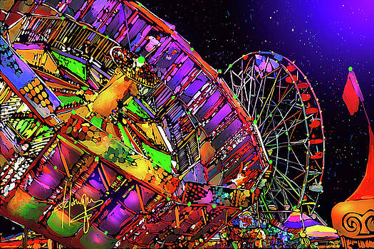 Del Mar Fair by DC Langer