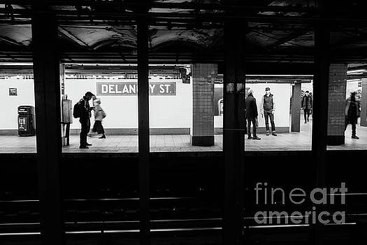 Delancy Street Metro by Thomas Marchessault