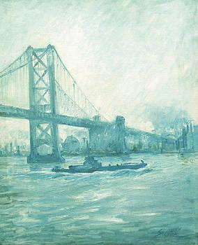 Delaware and Walt Whitman Bridge by Zois Shuttie