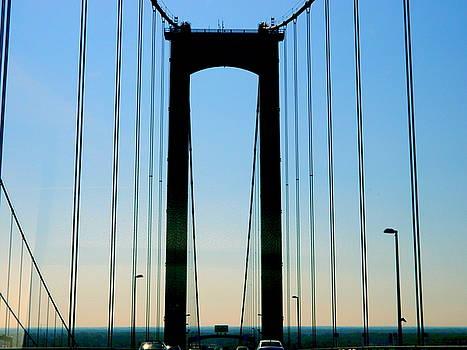 Delaware Memorial Bridge by Arlane Crump