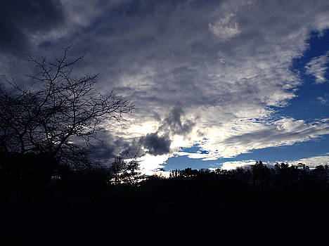 Delaware Winter Sky by Tim Stringer