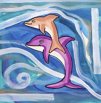Delfini by Saso  Petrosevski Novak - SPN