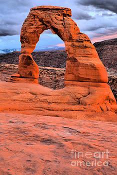 Adam Jewell - Delicate Arch Sunset Portrait