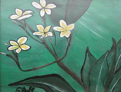 Delicate  Wild Flowers by Elizabeth A Gawronski
