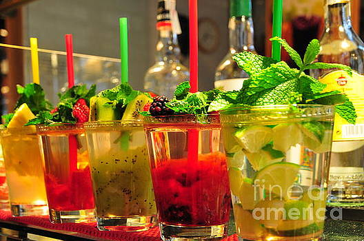 Delicious Drinks Abstract by Akshay Thaker