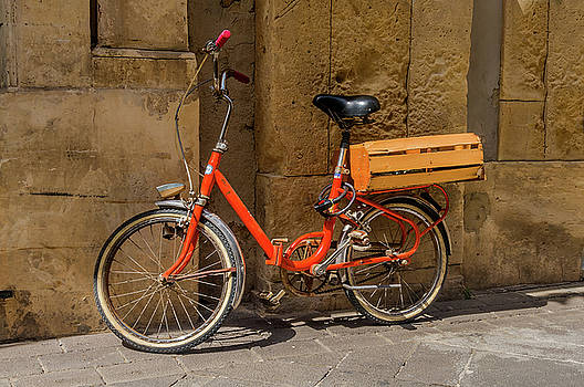 Delivery Bicycle Syracuse Sicily by Xavier Cardell