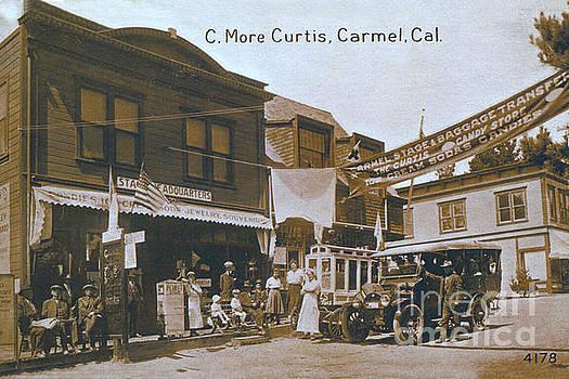 California Views Mr Pat Hathaway Archives - Delos C. Curtis Lunch Room, Carmel, Cal. Circa 1920