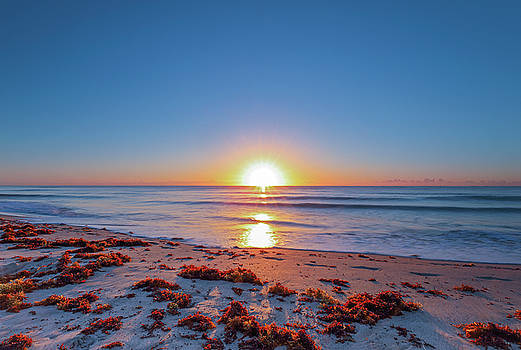 Delray Beach Sunrise by Juergen Roth