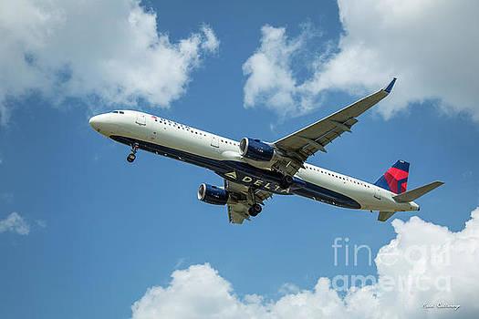 Reid Callaway - Delta Air Lines 757 Airplane N308DN Hartsfield-Jackson Atlanta International Airpoet Art