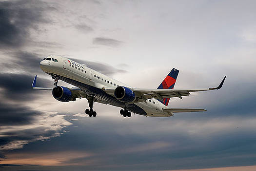 Delta Air Lines Boeing 757-26D by Nichola Denny
