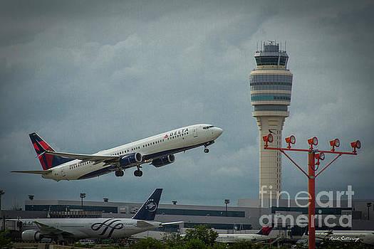 Reid Callaway - Delta Airlines Airplane N835DN Hartsfield Jackson Atlanta International Airport Art