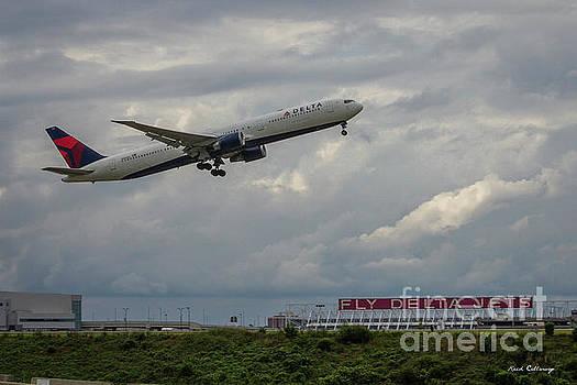 Reid Callaway - Delta Airlines Jet N836MH Hartsfield Jackson International Airport Art