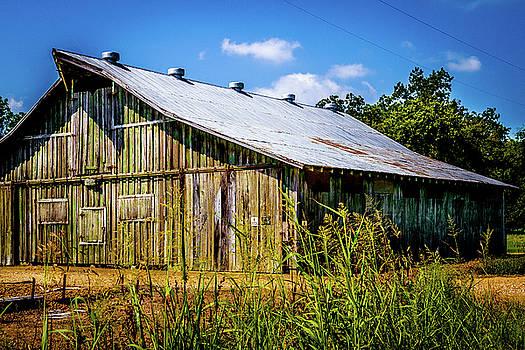 Delta Barn - Farm Landscape by Barry Jones