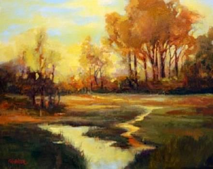 Delta Landscape by Pat Walker