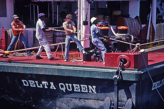 Delta Queen Riverboat by Randy Muir