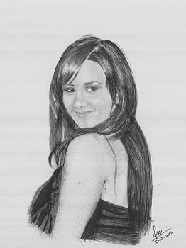 Demi Lovato by Reza Naqvi