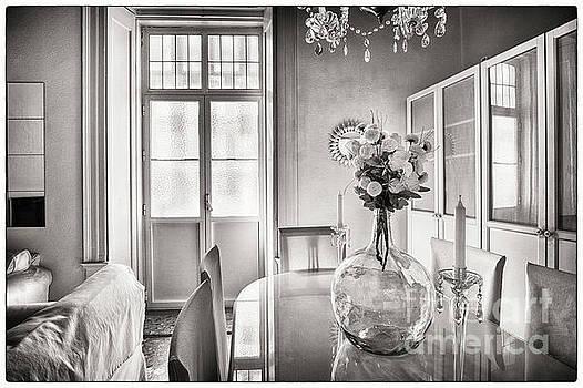 Demijohn and Window Cadiz Spain by Pablo Avanzini