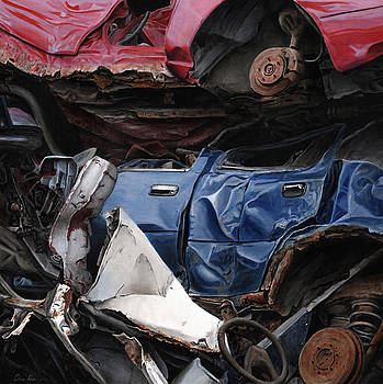 Demise of a blue Ford by Chris Klein