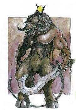 Demon by Bartek Blaszczec