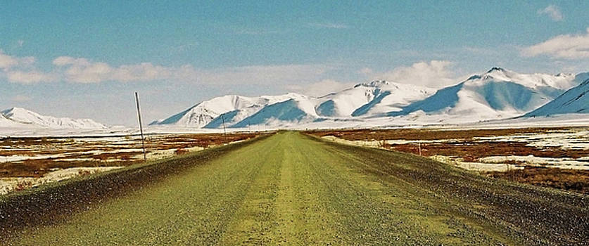 Dempster Highway - Yukon by Juergen Weiss