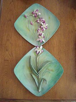Dendrobium Orchid  by MARI Sanchez
