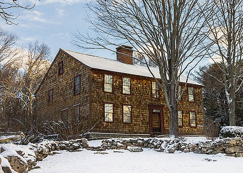 Denison Homestead Winter by Kirkodd Photography Of New England